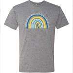 Extra Awesome Rainbow Statement Tee PREORDER