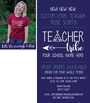 Camden Middle School Teacher Tribe Raglan