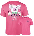 Southernology® When Pigs Fly T-Shirt