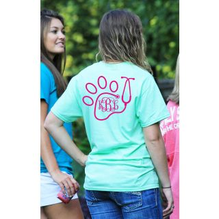 Preppy Vet Monogram Shirt