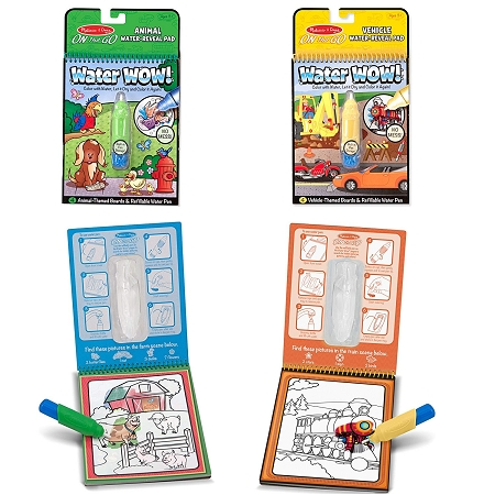 On The Go ColorBlast No-Mess Coloring Pad| underthecarolinamoon.com