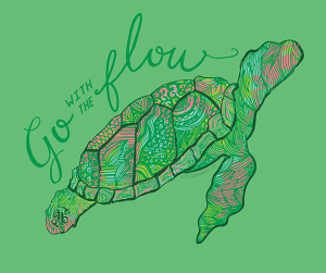 Ashton Brye™ Go With The Flow T Shirt