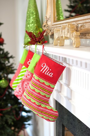 Holly Jolly Christmas Stocking
