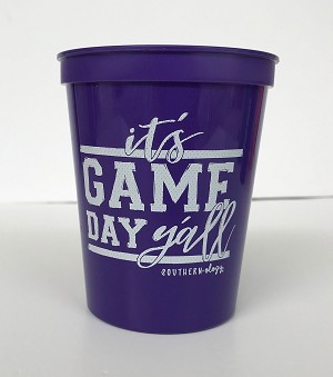 Game Day Cup Set of 4