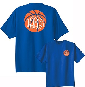 Preppy Basketball Monogram Shirt
