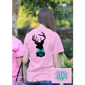 Preppy Deer Monogram Shirt