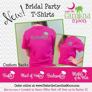 Bridal Party Monogram T-shirt