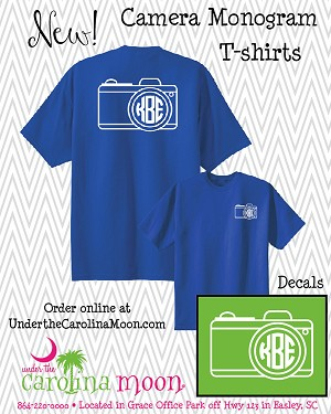 Preppy Camera Monogram Shirt