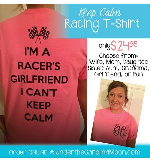 Keep Calm Racing Shirt