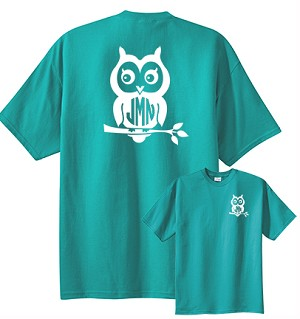 Owl Monogram T-Shirt