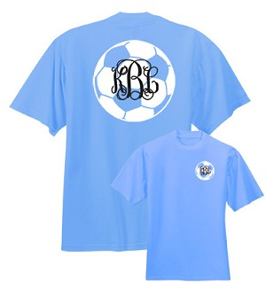 Preppy Soccer Monogram Shirt