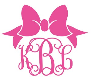Flash Preppy Bow Decal