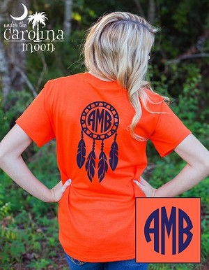Short Sleeve Dream Catcher Monogram