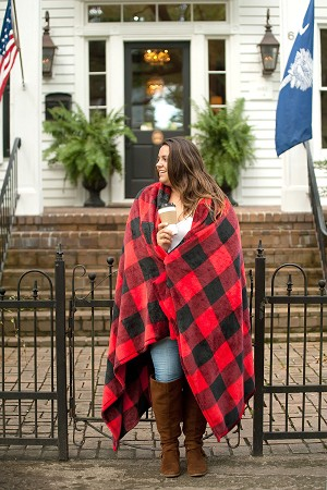Fall Patterened Blankets