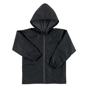 Black Kids Rain Jacket