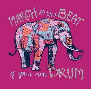 Ashton Brye™ March to the Beat T Shirt