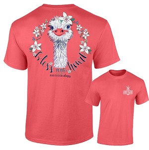 Southernology® Bless Your Heart Ostrich T Shirt